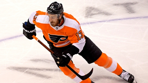 Philadelphia Flyers Center Kevin Hayes