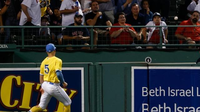 Boston Red Sox Outfielder Enrique Hernandez