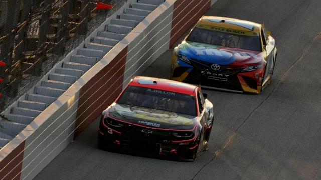 NASCAR drivers Kyle Busch, Austin Dillon