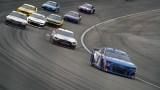 NASCAR drivers Kyle Larson and Brad Keselowski