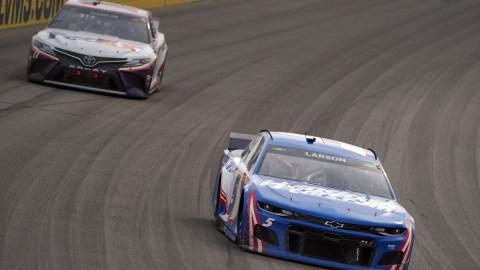 NASCAR Las Vegas: Kyle Larson and Denny Hamlin