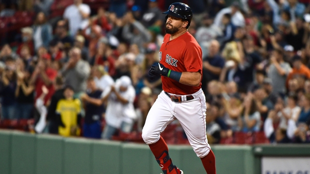 Boston Red Sox outfielder Kyle Schwarber