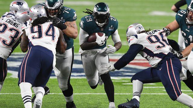 Former New England Patriots running back LeGarrette Blount