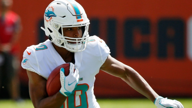 Miami Dolphins running back Malcolm Perry