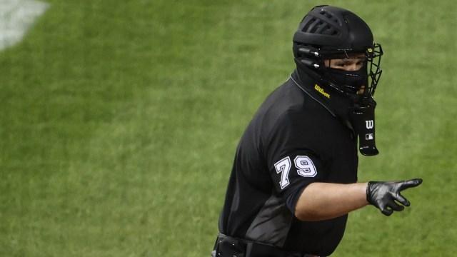MLB Umpire Manny Gonzalez