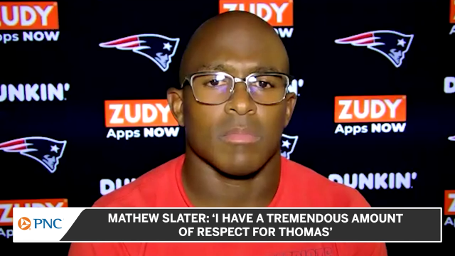 Patriots Wide Receiver Matthew Slater
