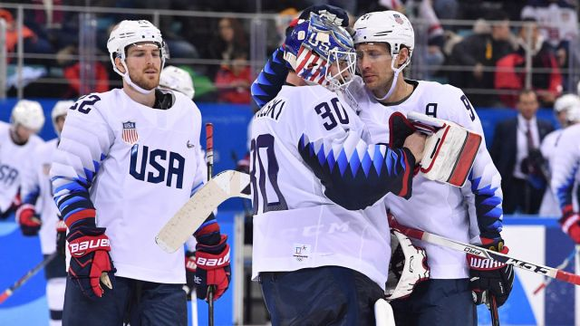 Team USA Defenseman Matt Gilroy