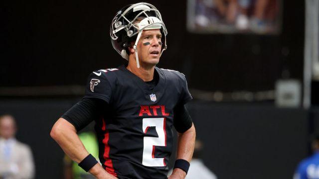 Atlanta Falcons quarterback Matt Ryan