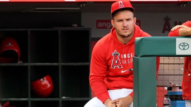 Los Angeles Angels outfielder Mike Trout
