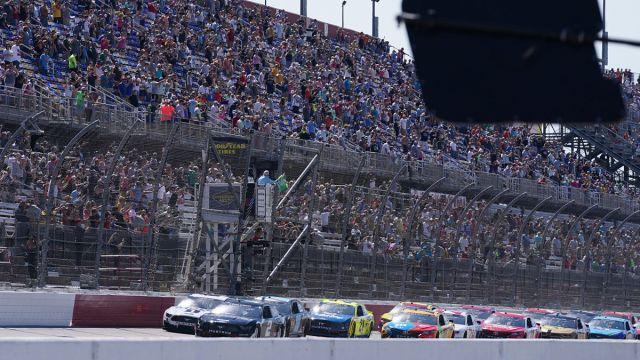 NASCAR drivers at Darlington Raceway