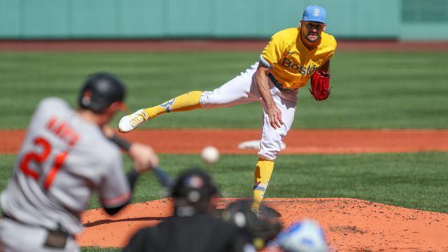 Boston Red Sox Pitcher Nate Evovaldi