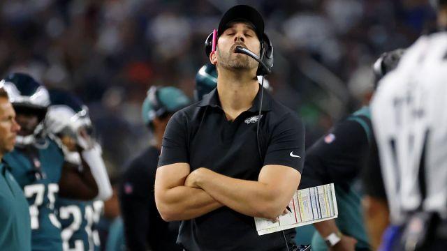 Philadelphia Eagles head coach Nick Sirianni
