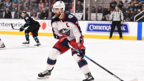 Boston Bruins Forward Nick Foligno
