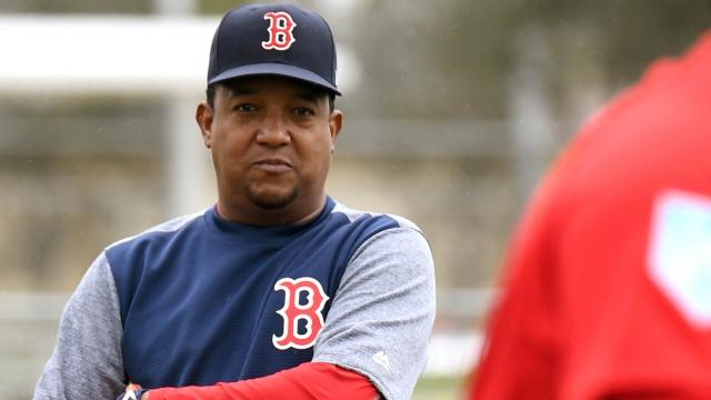 Former Boston Red Sox pitcher Pedro Martinez