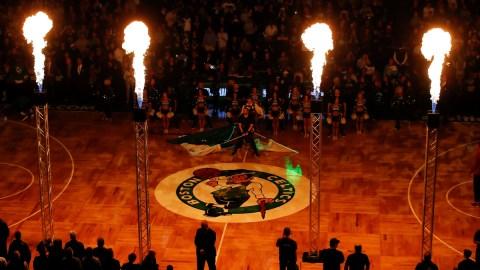 Boston Celtics arena TD Garden