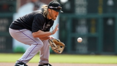 Boston Red Sox infielder Taylor Motter