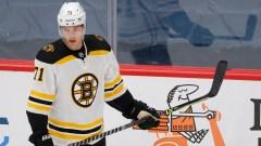 Boston Bruins winger Taylor Hall