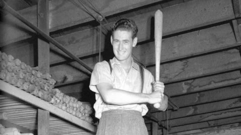 Boston Red Sox Legend Ted Williams