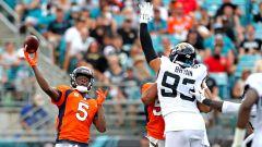 Denver Broncos quarterback Teddy Bridgewater