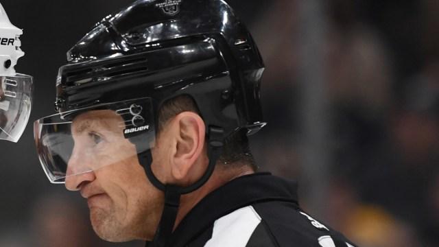 Former NHL referee Tim Peel