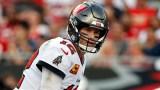 Tampa Bay Buccaneers quarterback Tom Brady