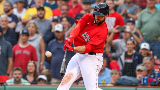 Boston Red Sox first basemen Travis Shaw