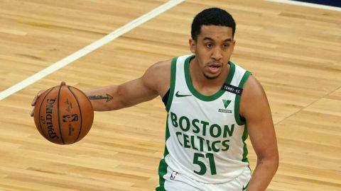 Boston Celtics guard Tremont Waters