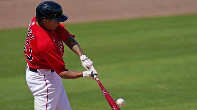 Boston Red Sox infielder Yairo Muñoz