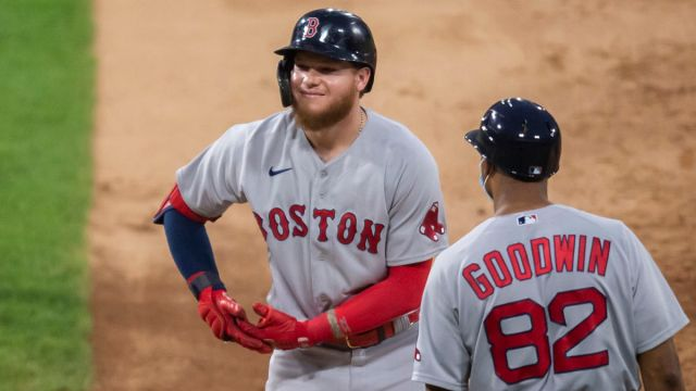 Boston Red Sox center fielder Alex Verdugo
