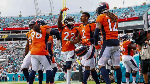 Denver Broncos strong safety Kareem Jackson