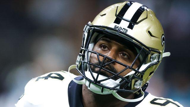 New Orleans Saints defensive end Cam Jordan