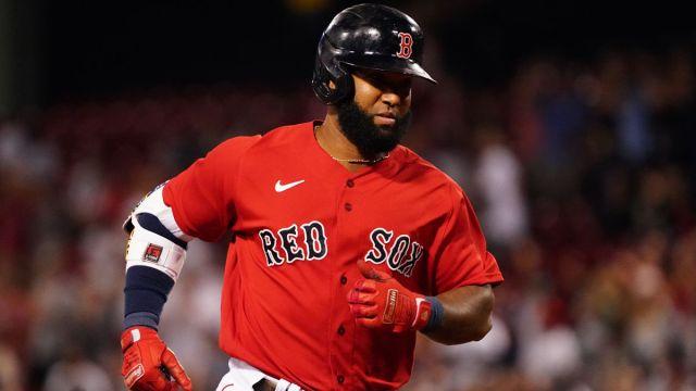 Boston Red Sox utility man Danny Santana