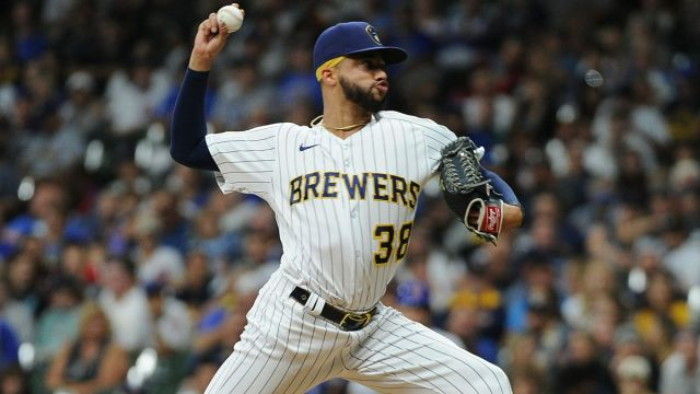 Milwaukee Brewers reliever Devin Williams