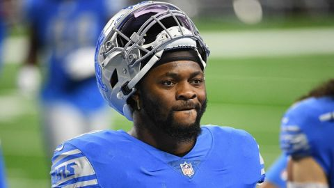 Detroit Lions linebacker Jamie Collins