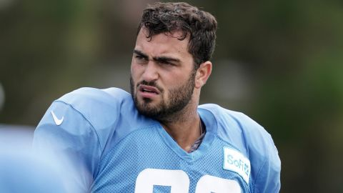 Los Angeles Chargers defensive end Joe Gaziano