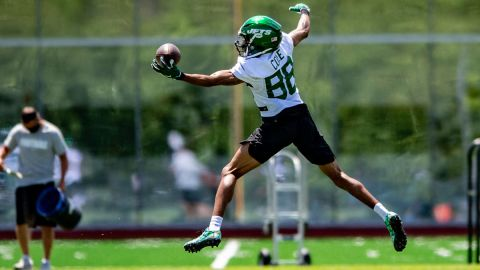 New York Jets receiver Keelan Cole