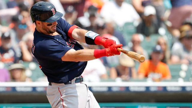 Boston Red Sox catcher Kevin Plawecki