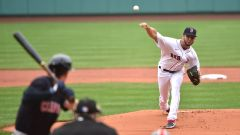 Boston Red Sox starting pitcher Kutter Crawford