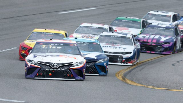 NASCAR drivers at Richmond Raceway