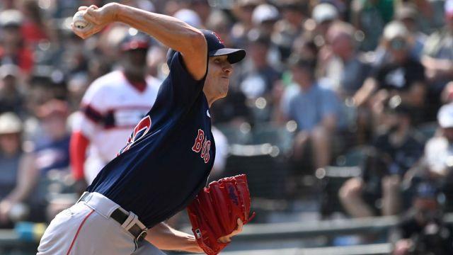 Boston Red Sox pitcher Nick Pivetta