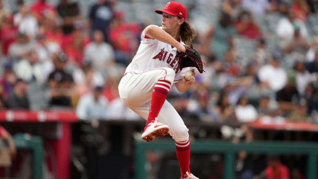 Los Angeles Angels Pitcher Packy Naughton