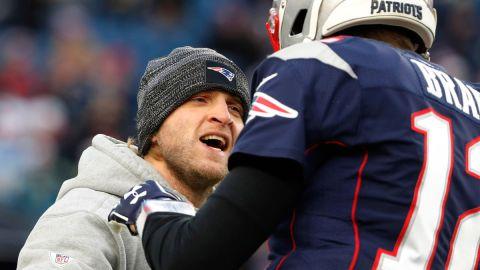 New England Patriots coach Steve Belichick and quarterback Tom Brady