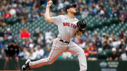 Boston Red Sox starting pitcher Tanner Houck