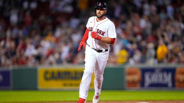 Boston Red Sox designated hitter Travis Shaw