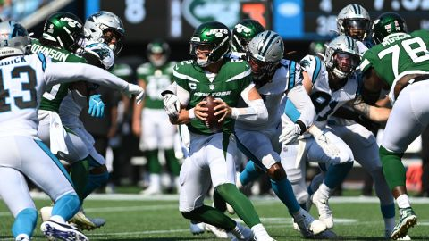 New York Jets quarterback Zach Wilson