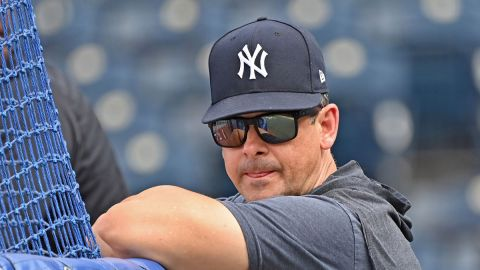 New York Yankees manager Aaron Boone