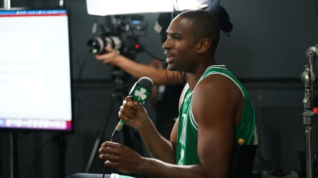 Al Horford Boston Celtics-Media Day