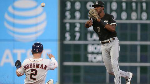 Houston Astros third baseman Alex Bregman and Chicago White Sox shortstop Tim Anderson