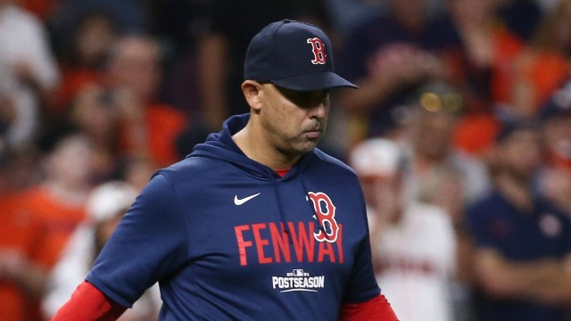 Boston Red Sox Manager Alex Cora