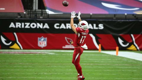 Arizona Cardinals wide receiver Andy Isabella